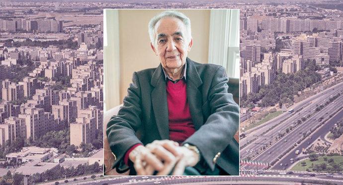 طراح و خالق شهرک اکباتان - مهندس رحمان گلزار شبستری