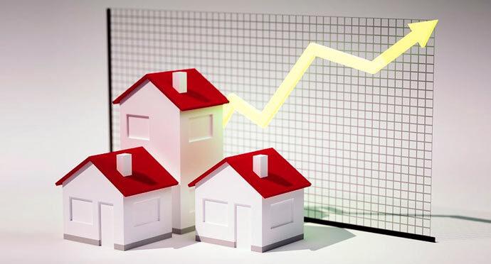 نوسانات بازار املاک و مستغلات