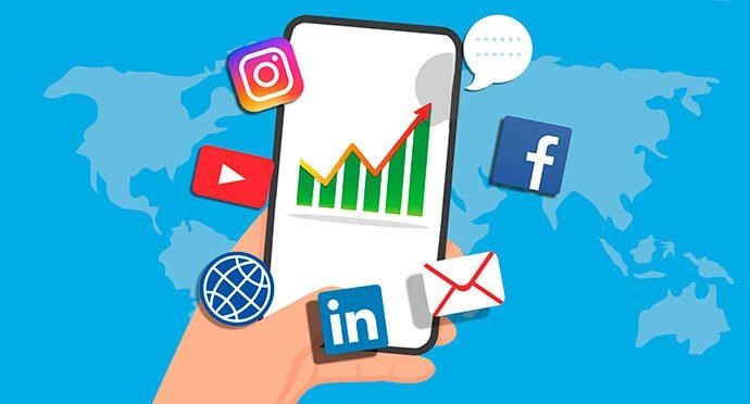 استفاده از شبکههای اجتماعی برای بازاریابی اینترنتی املاک