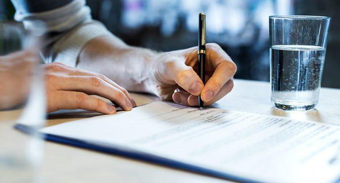 ساختار متن فسخ اجاره نامه برای اجاره نامههای دستی
